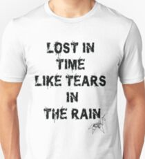 Blade Runner Lost in Time like Tears in the Rain T-Shirt