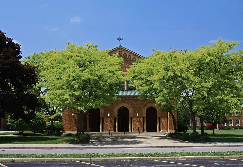 Gesu Church I by Michiale