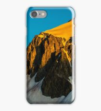 Snowmass Area and the Amazing HagerMan Peak  iPhone Case/Skin