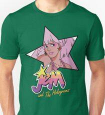 Jem and the Holograms Star Cute Kawaii 80's 1980's Retro Unisex T-Shirt