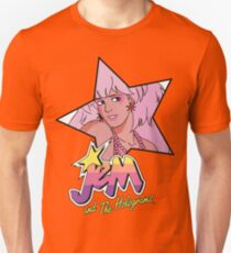 Jem and the Holograms Star Cute Kawaii 80's 1980's Retro T-Shirt