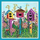 Summer Garden (square) by Lisafrancesjudd