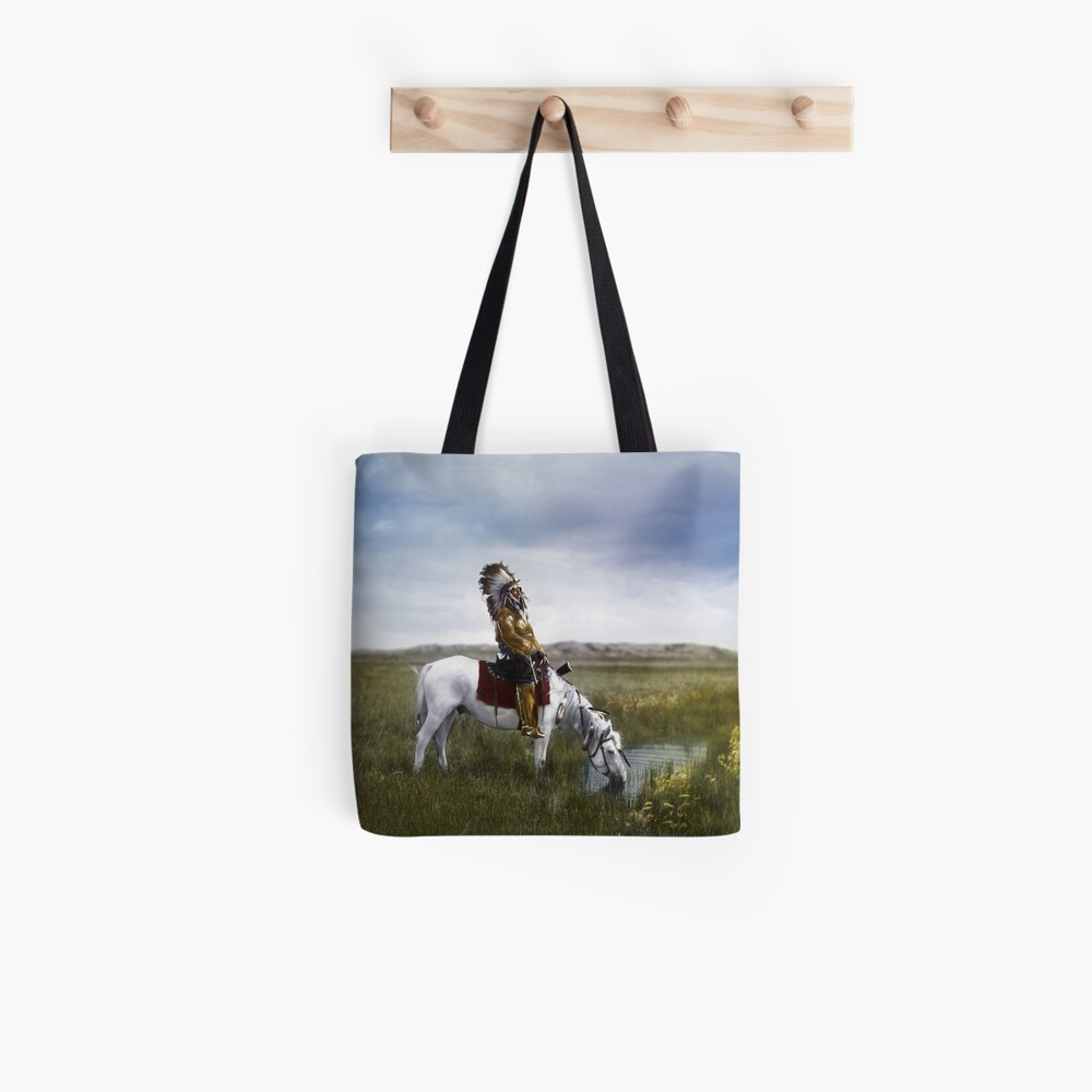 An oasis in the Badlands   Tote Bag