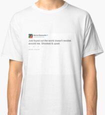 Just found out the world doesn't revolve around me. Shocked & Upset - Marina Diamandis Classic T-Shirt