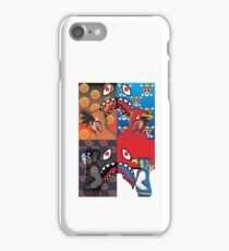 one piece naruto dragonball z and pokemon supreme iPhone Case/Skin
