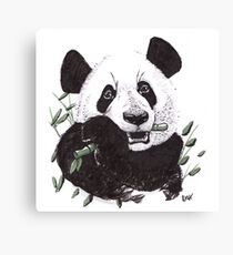 Hungry Panda Impression sur toile