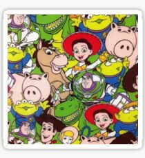 All Over Toy Story Design Sticker