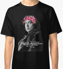 Born to be Wilde with flower crown Classic T-Shirt