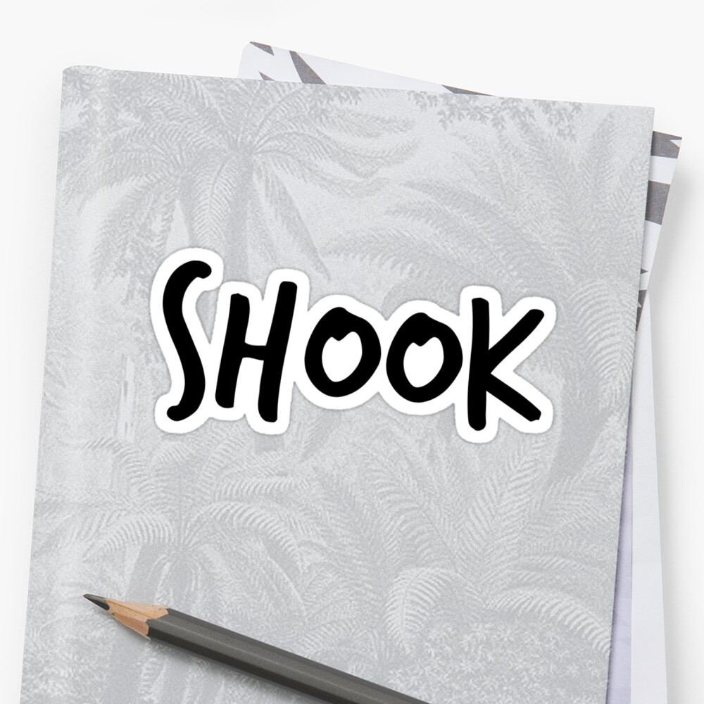 Shook Text Meme by slapstyk