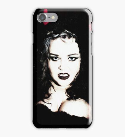Sexy Gothic Portrait iPhone Case/Skin
