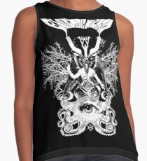 Electric Wizard - Baphomet (White) Contrast Tank