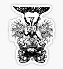 Electric Wizard - Baphomet (Black) Sticker
