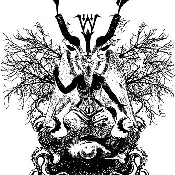 Electric Wizard - Baphomet (Black) by lnfernum