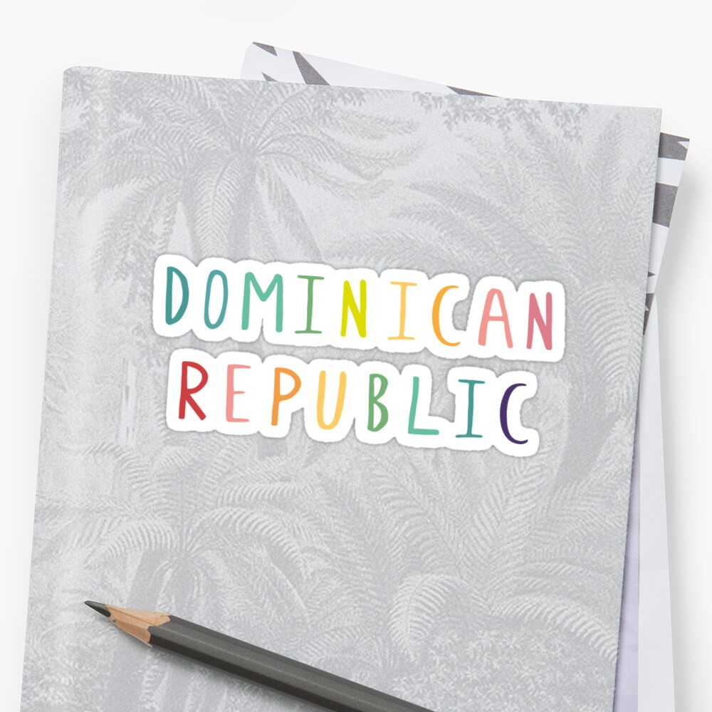 Dominican Republic by luggagestickers
