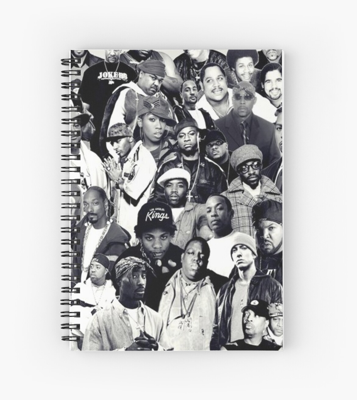 Hip Hop Legends Collage by SaintSinnerShop