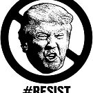 Drumpf #RESIST by loudmouthtees