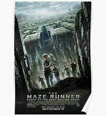 The Maze Runner: Movie Poster Poster