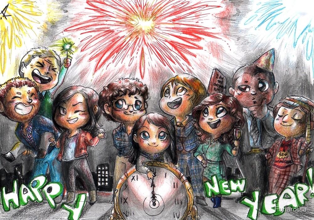 Hannibal - Happy new year by Furiarossa