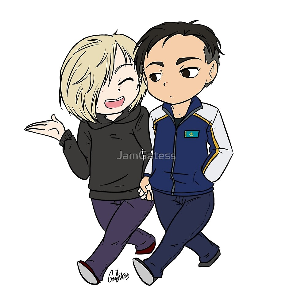 Otayuri Walking Chibi by JamGatess