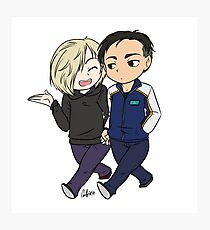 Otayuri Walking Chibi Photographic Print