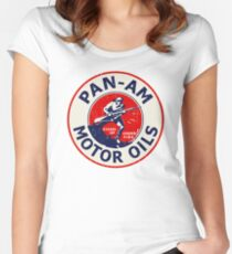 Pan Am Motor Oils Women's Fitted Scoop T-Shirt