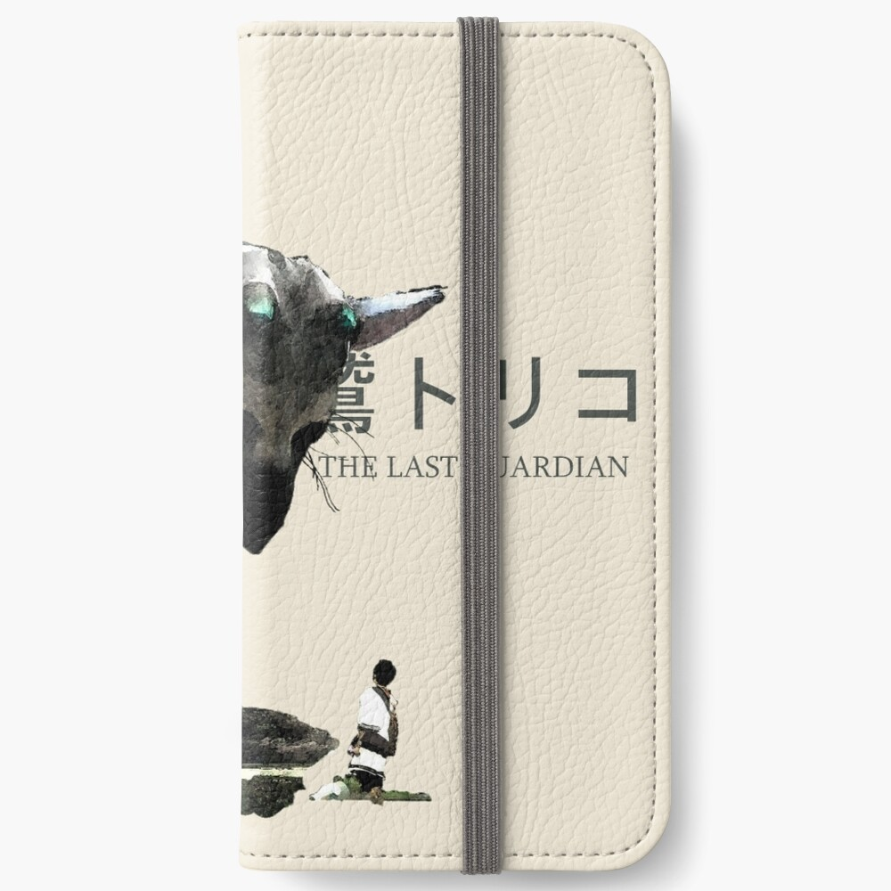 Trico and the boy - The last Guardian Fundas tarjetero para iPhone