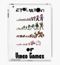 Evolution of Video Games iPad Case/Skin