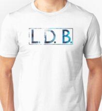 Keplar Blue LDB Logo Unisex T-Shirt