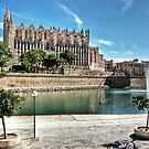 La Seu and the Parc de la mar by John Edwards