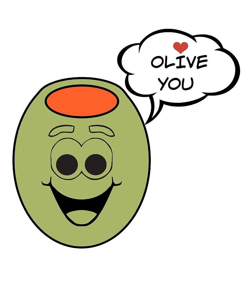 Olive You - Valentine's Day Gift by Trendy Gear Shop