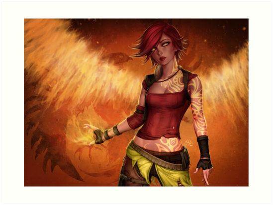Lilith - Borderlands2 by MircoSciamart