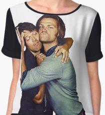 Jared and Misha  Chiffon Top