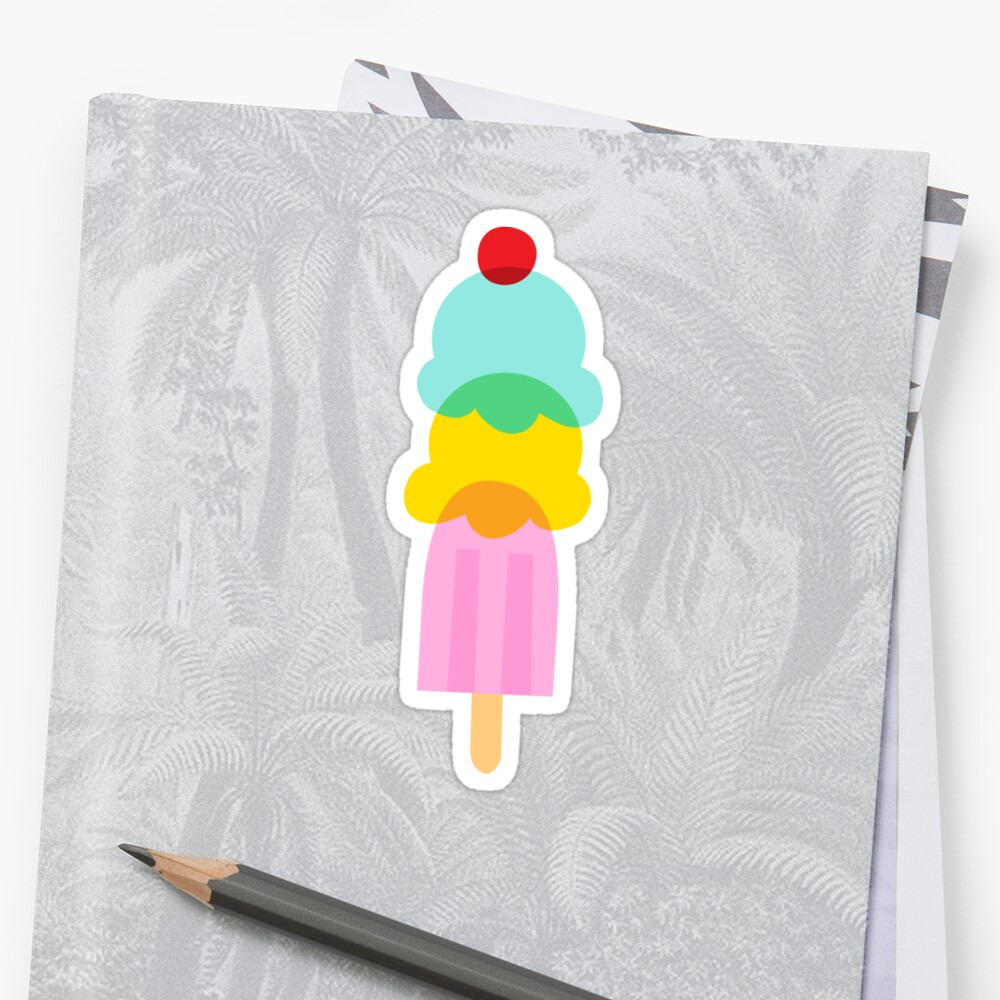 Ice cream sticker by Mhea
