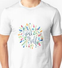 Treat Yo Self Florals Unisex T-Shirt