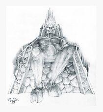 Morgoth Bauglir Photographic Print