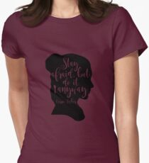 Stay Afraid, But Do It Anyway - Carrie Fisher quote T-Shirt