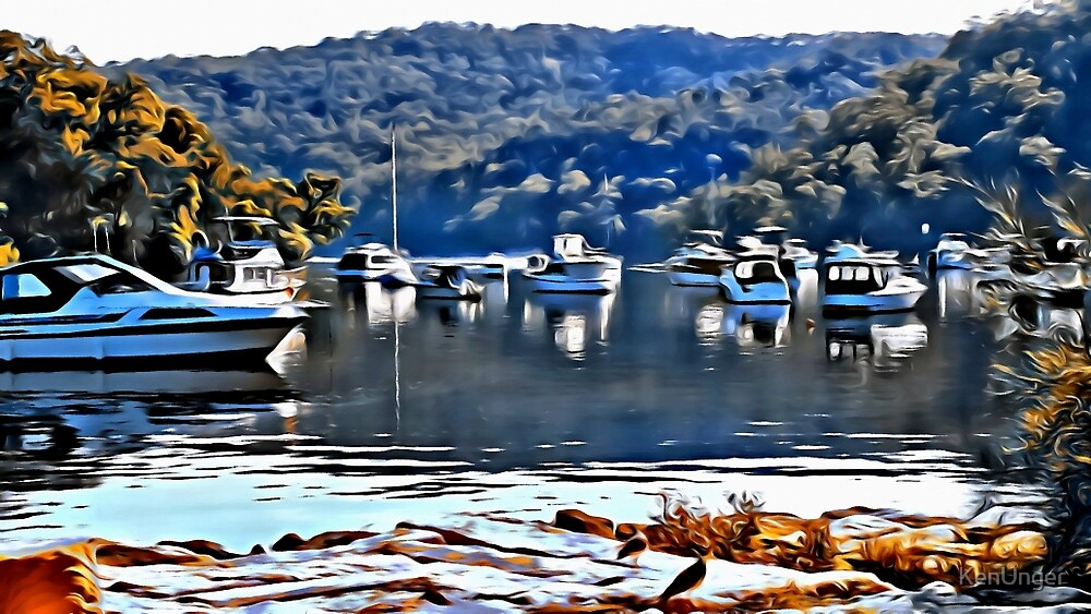 Boats by KenUnger