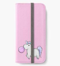 Vinilo o funda para iPhone Unicornio Bubblegum