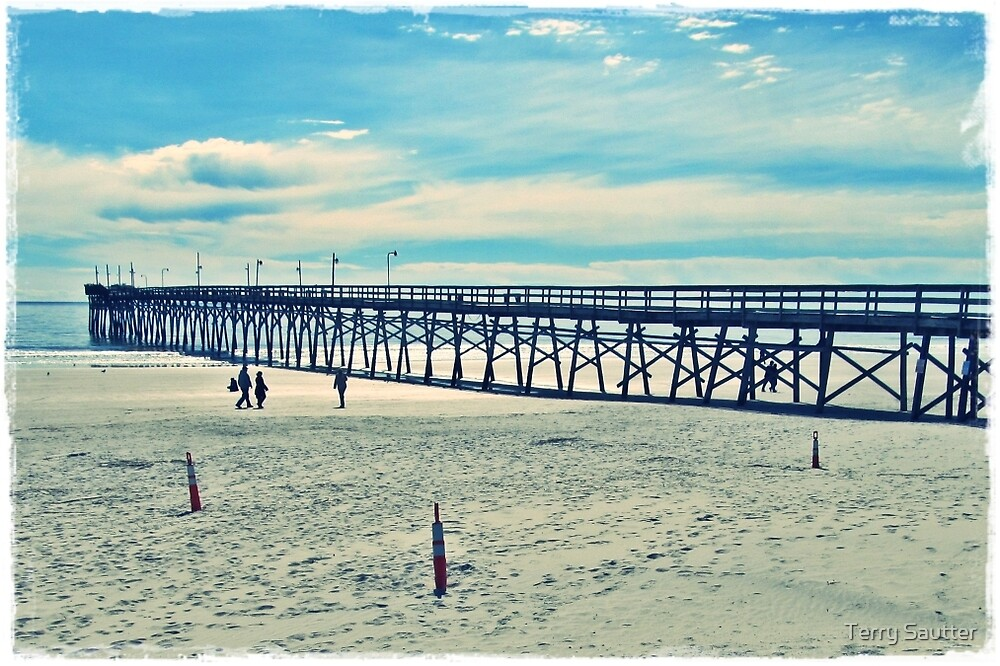 The Pier by Terry Sautter