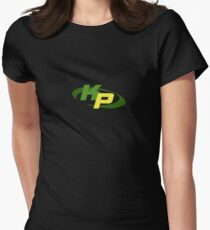 Kim Possible Logo Womens Fitted T-Shirt
