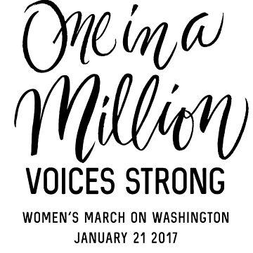 Women's March on Washington 2017 by carolnix