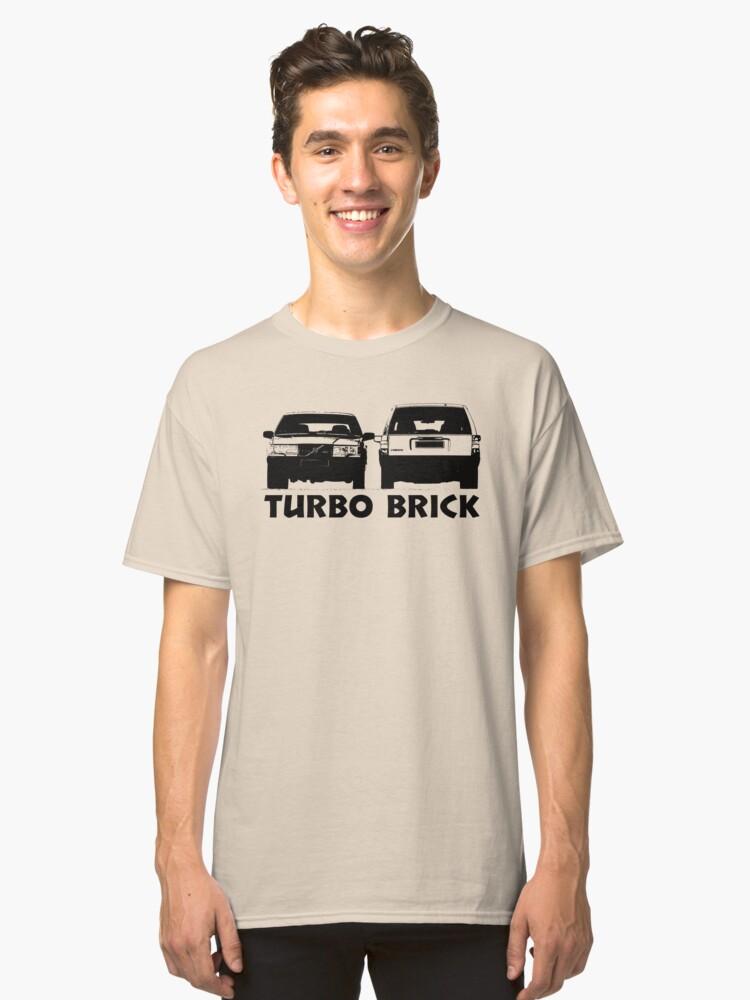Volvo Turbo Brick 740 Classic T-Shirt Front
