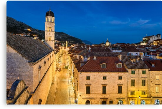 Old town of Dubrovnik by Michael Abid