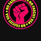 No Fascist USA (pink) by Thelittlelord