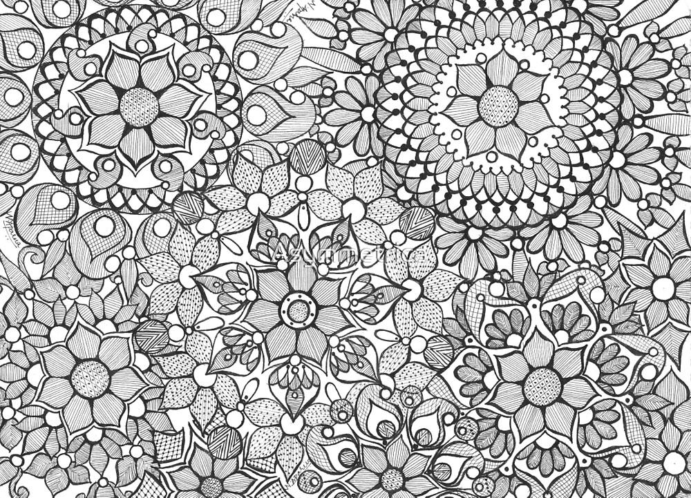 Lily Pads by Asymmetrica