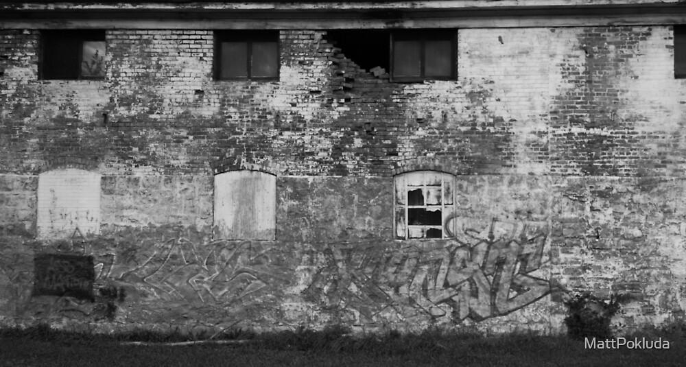 Old Brick Wall by MattPokluda