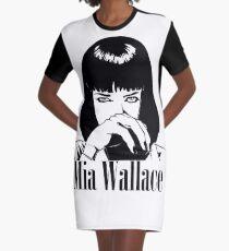 Mia Wallace Graphic T-Shirt Dress