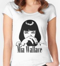 Mia Wallace Women's Fitted Scoop T-Shirt