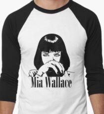 Mia Wallace Men's Baseball ¾ T-Shirt