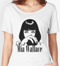 Mia Wallace Women's Relaxed Fit T-Shirt
